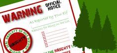 Naughty/Nice List elf on the Shelf