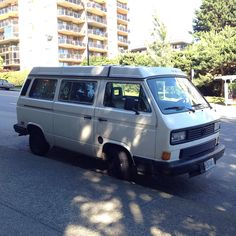 Another North Vancouver VW Vanagon spotted in North Vancouver