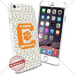 New iPhone 6 Case Clemson Tigers Logo NCAA #1081 White Smartphone Case Cover Collector TPU Rubber [Anchor] SURIYAN http://www.amazon.com/dp/B01504D99Y/ref=cm_sw_r_pi_dp_mIJxwb172X2CM
