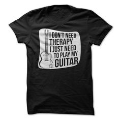 There's something to be said for therapy, don't get us wrong. But there's also something to be said for playing the guitar. Therapy is great, but playing the guitar is pretty great too! If you find yo