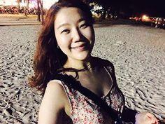 밤 바다 오랜만이다~  모래가 미숫가루같애 ㅋㅋㅋ  #바통비취##밤#여름#휴가#모래#청춘#여행#동물농장#푸켓#여긴 #여유롭다!!