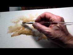 Mini Demo of Key Watercolor Technique (2)--the Sponge