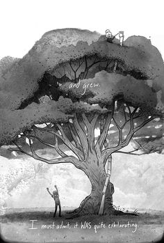 Sarah and the Seed. A beautiful short comic by Ryan Andrews