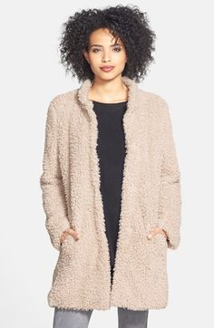 Cozy faux fur jacket on sale.