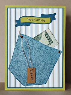 Gift cars ideas for teens boys happy birthday ideas - myeasyidea sites Homemade Birthday Cards, Birthday Cards For Boys, Masculine Birthday Cards, Bday Cards, Happy Birthday Cards, Homemade Cards, Birthday Wishes, Birthday Surprises, Masculine Cards