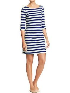Women's Tab-Sleeve Tee Dresses   Old Navy, $24.94