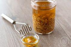 Mojo de Ajo - Rick Bayless' recipe for garlic mojo on numnums.com