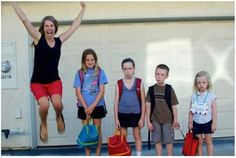 an honest 1st day of school picture