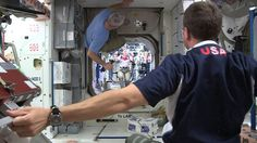 Wie Astronauten auf der ISS Fussball spielen - http://www.dravenstales.ch/wie-astronauten-auf-der-iss-fussball-spielen/