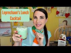 Leprechaun's Lunch Cocktail | Pinterest Drink #41 | MamaKatTV - YouTube