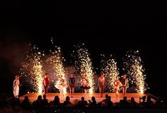 Fireworks to celebrate a perfect performance from the Australian Ballet at qualia #hamiltonisland