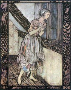 Cinderella by Arthur Rackham.
