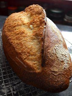 Cum se face maia naturală pentru pâine fără drojdie - rețeta de drojdie sălbatică | Savori Urbane Lchf, Keto, Sourdough Bread, Breakfast Recipes, Cakes, Health, Breads, Yeast Bread, Bread Rolls