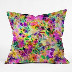 Gabriela Fuente Belle I Throw Pillow | DENY Designs Home Accessories