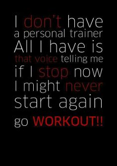 go workout !!