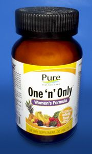 This One 'n' Only™ Women's Formula is designed for women in generally good health and who eat a reasonably good diet. This one per day formula not only provides an excellent array of general important nutrients, but it also contains factors that help support breast and bone health.