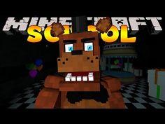 Minecraft School : FIVE NIGHTS AT FREDDY'S - NIGHT #1 (Custom Roleplay) - YouTube