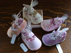 Baby Shoe ~ Shower Favors!