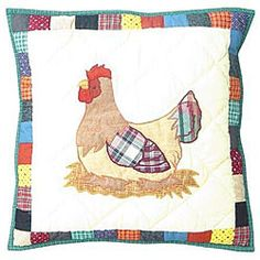 @Overstock - 'Hen' 16x16 Pillow Covers and Fillers (Set of 2) - Add the finishing touch to your home decor with decorative throw pillowsDecorative accessory set includes two pillow covers with fillersEach throw pillow measures 16 inches x 16 inches    http://www.overstock.com/Home-Garden/Hen-16x16-Pillow-Covers-and-Fillers-Set-of-2/4390170/product.html?CID=214117  $31.49