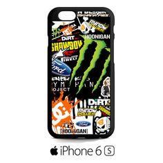 Ken Block 43 Monster Rally Team Gymkhana Dc Shoes Racing iPhone 6S Case