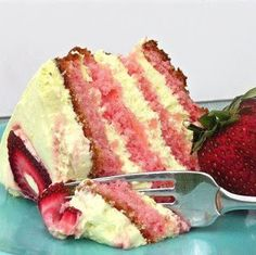 Ingredients:     One box of strawberry cake mix (plus oil, water and eggs as directed on box)   8oz. Philadelphia Cream Chees...