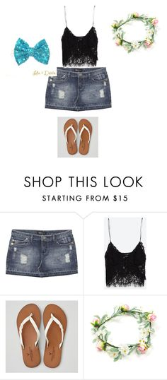 """""""Created By Mariah"""" by daisy-owens on Polyvore featuring Wet Seal, Zara and American Eagle Outfitters"""