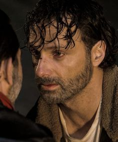 """dailytwdcast: """" """"Rick Grimes in The Walking Dead Season 7 Episode 1   The Day Will Come When You Won't Be """" """""""