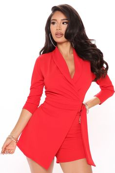Party Dresses For Women, Casual Dresses For Women, Clothes For Women, Red Fashion, Fashion Brands, Curve Dresses, Nova Dresses, Girls Rompers, Women's Rompers