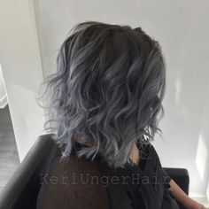 One of the most prominent trends of 2015 so far is intentionally grey hair. From silver to steel, grey hair color is the perfect color for clients wishing for a little more edge. Colorist Keri Owsiak recently helped transform her guest from faded, grown-out lavender to a gorgeous, gunmetal grey. Below, she shares tips on recreating the look.
