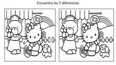 encuentra las diferencias dibujos animados para niños imagenes_1