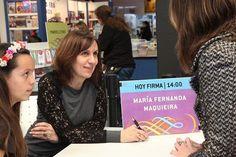 María Fernanda Maquieira, escritora y editora argentina.