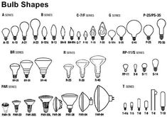 Light Bulb Base Sizes | Light Bulb Types