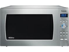 This week one lucky winner will win a Panasonic Stainless Steel Full Size Genius Prestige Countertop/Built-In Microwave Oven with Inverter Technology.