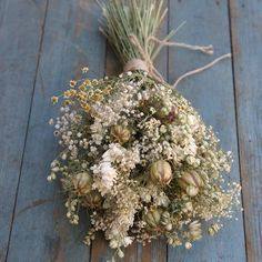 Wild Meadow Dried Flower Wedding Bouquet by The Artisan Dried Flower Company, the perfect gift for Explore more unique gifts in our curated marketplace. Country Wedding Flowers, Bridal Flowers, Dried Flower Bouquet, Dried Flowers, Flower Company, Seasonal Flowers, Autumn Flowers, Meadow Flowers, Wildflowers