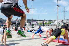 Urban Fitness by Jasmina Aleksandrov @ južni plato Kombank Arene 9. maj 2015.   Photo: Aleksandar Dmitrović Urban Fitness, Running, Sports, Hs Sports, Keep Running, Why I Run, Sport