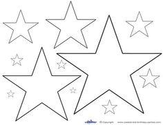 44 Besten Malvorlage Stern Bilder Auf Pinterest Stencils Glass
