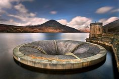 Weir Silent Valley Reservoir was built to gather water from the Mourne Mountains and is the main water supply source for most of County Down and a large part of Belfast.