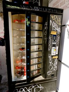 Bicycle parts vending machine.