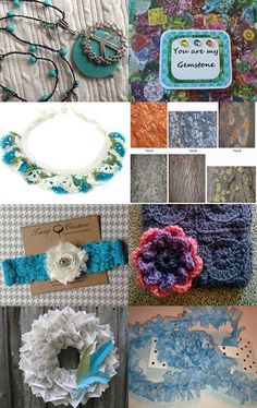 Blues by loriely on Etsy--Pinned with TreasuryPin.com