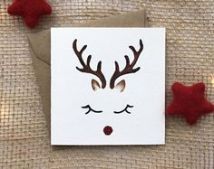 hand painted card, christmas cards, christmas card, reindeer card, handmade chris … Source by hornschoettler Christmas Drawing, Christmas Art, Handmade Christmas, Cute Christmas Cards, Xmas Cards, Diy Cards, Holiday Cards, Homemade Christmas Cards, Homemade Cards