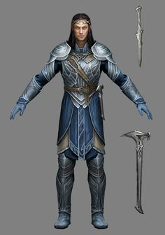 The forger of the Elven rings of Power, Celebrimbor