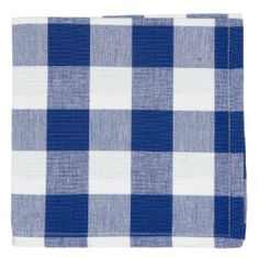 Now Designs Picnic Check Napkins, Regatta, Set of 4 by Now Designs. $11.99. Napkins measure 16-inch square. Machine washable. Perfect for sunny days and outdoor dining. Made of 100-percent cotton. Set includes four matching napkins. Now Designs' Picnic Check collection is a fashion forward take on a popular summer essential. Now Design's version boasts a wider, bolder, check pattern and richer colors. The collection includes tablecloths and napkins- all made o...