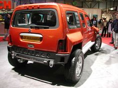 Sbarro Citroën Berlingo Bourlingueur 4x4 2003