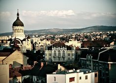 Cluj Napoca view from top of the hill. Amazing.