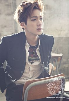 Jin //School Luv Affair Album Photoshoot