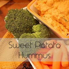 Sweet Potato Hummus #Xagave #BBFCoconutOil #BetterBodyFoods
