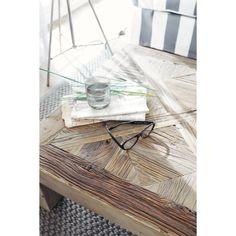 Table basse en orme massif recyclé L 150 cm Bruges | Maisons du Monde