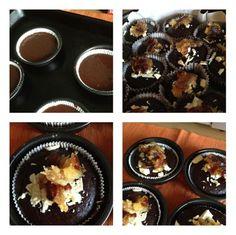 Torta banana e cacao senza lievito