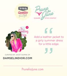 What's your best summer style tip? #PruneforJune