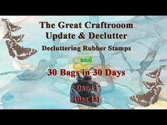 Craftroom Declutter - Rubber Stamps Purge {30 Bags Day 14} The Great Craft Room Declutter continues as I sort through my rubber wood mounted stamps in Konmari style ...only keeping those items I love or intend to actually use! {Also Day 14 of my 30 Bags in 30 days!} Find / Stalk / Follow / Friend Me Here: TWITTER: http://www.twitter.com/ArtJourney INSTAGRAM: http://ift.tt/2j0QT1M PINTEREST: http://ift.tt/2zOQd7C FACEBOOK: http://ift.tt/2j03mCA WEBSITE/BLOG: http://ift.tt/2zOQebG Music Used…